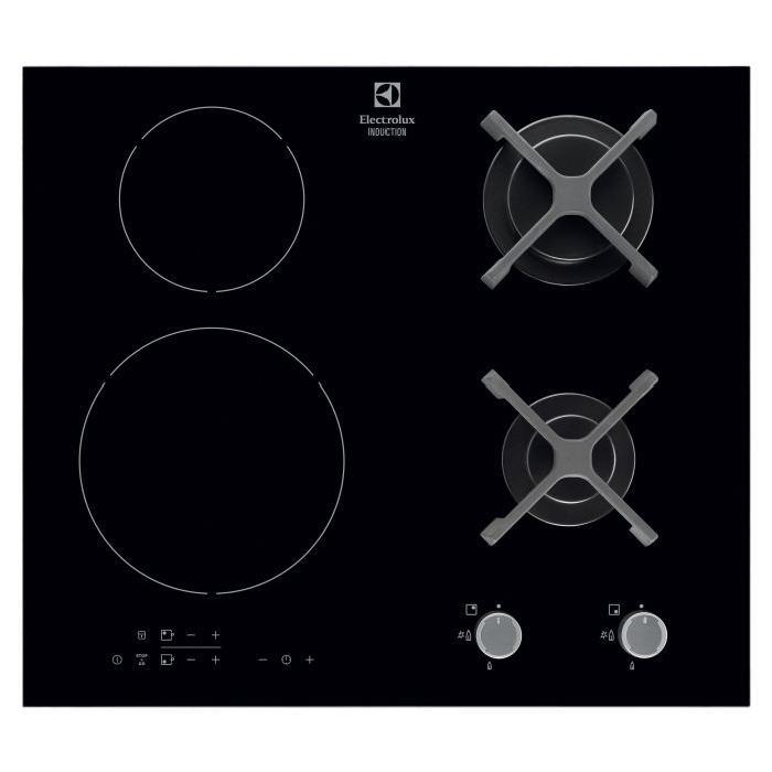 Plaques de cuisson mixtes